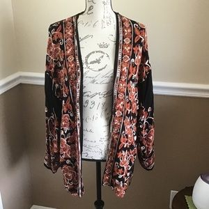 XL Forever 21 Contemporary Embroider Jacket